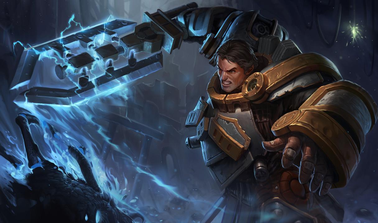 League of Legends: 1/20 PBE Update: Steel Legion Garen ...