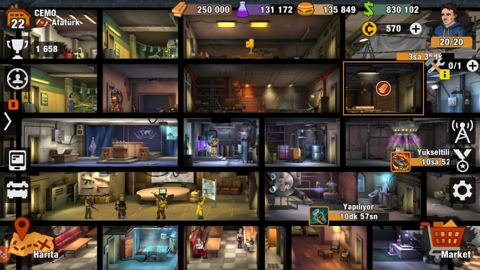 Zero City Oyun Incelemesi ve Tavsiyeler
