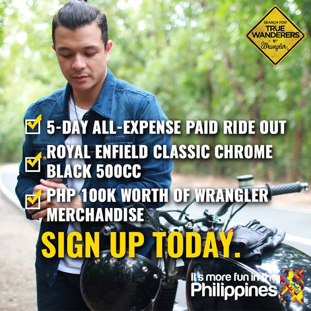 Wrangler Philippines True Wanderer Contest