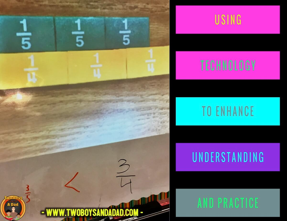 comparing fractions using inequalities