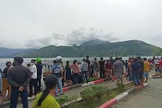 Pelajar SD Tenggelam di Perairan Danau Toba Samosir