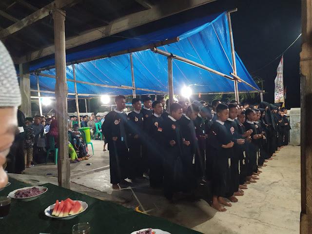Novi Andri Hadiri Pelantikan Warga Purwa PSCP Tuguratu