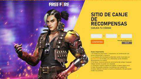Free Fire redeem code for today (31st January) get League 2021 Apertura