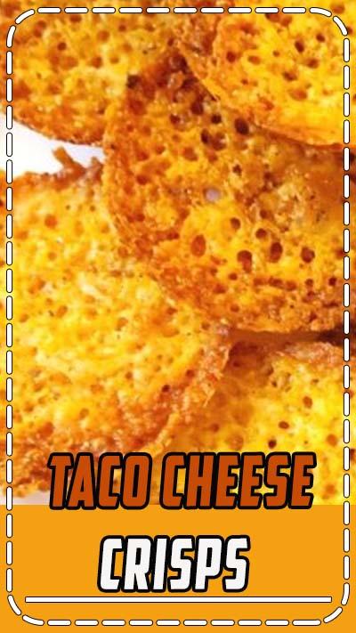 TACO CHEESE CRISPS