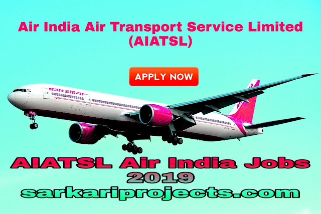 AIATSL Air India Jobs 2019 - 335 Application for Junior Executive, Customer Agent and  Other Posts