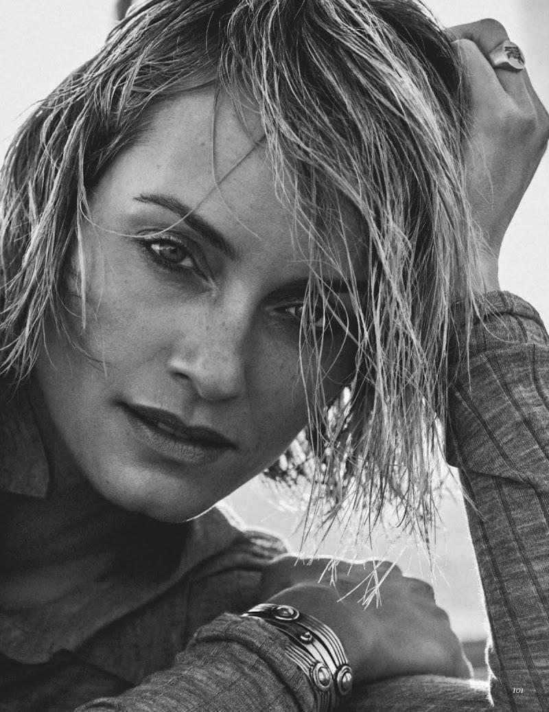 Amber Valletta Featured in Vogue Magazine, Mexico & Latin America February 2020