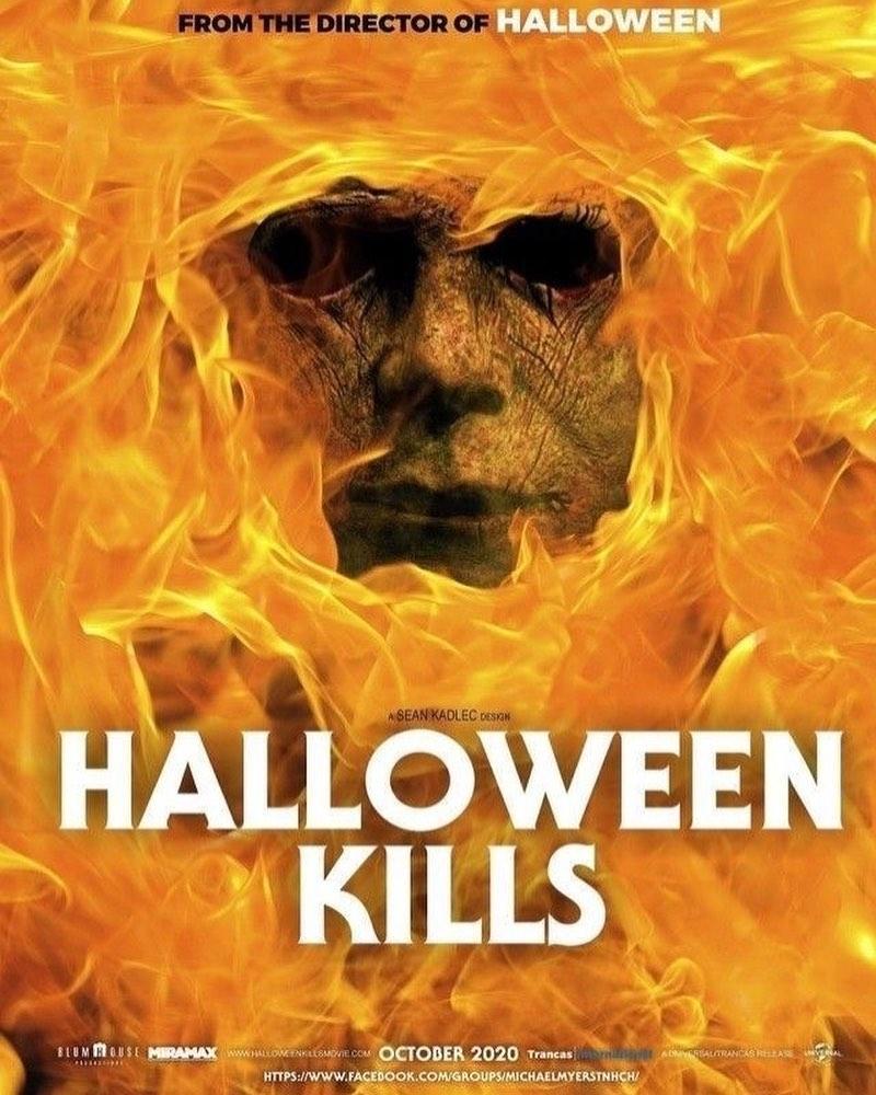Halloween 2020 Fan Art Posters The Horrors of Halloween: HALLOWEEN KILLS (2020) First Look! Fan