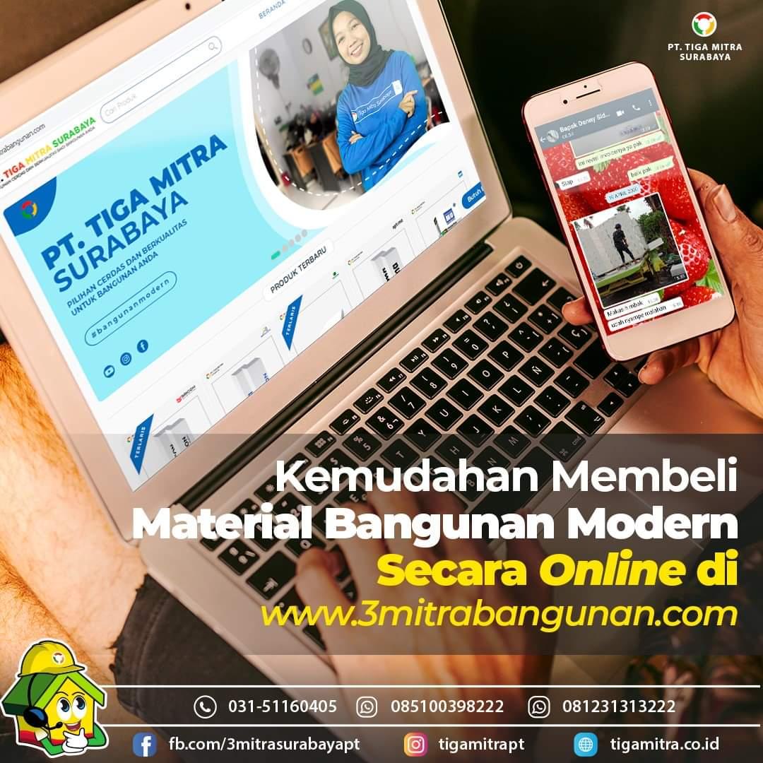 Toko Online Bata Ringan, Semen Mortar, Panel Lantai Surabaya, Sidoarjo, Gresik