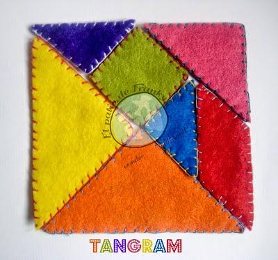 Tangram para aprender jugando