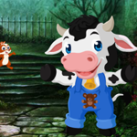 G4K Cute Calf Rescue 2 Game