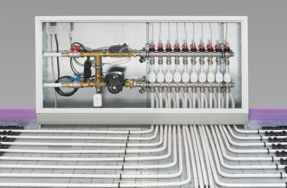 Suelo Radiante Uponor Heating-instal : Mai 2016