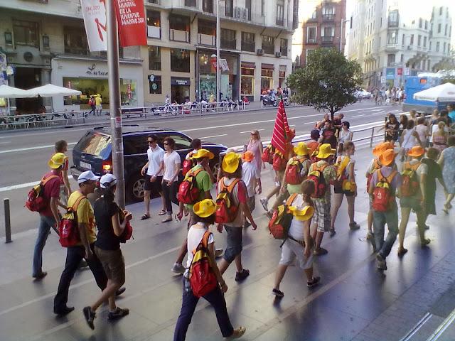 Línea servicio especial (EMT). Aluche - Cuatro Vientos (Jornada Mundial de la Juventud 2011)