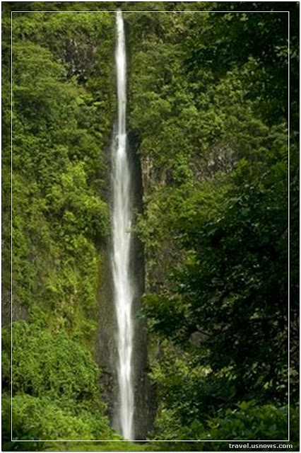 Fautaua Waterfall  - Top 7 Best Places to Travel in Tahiti at Least Once in Your Life Time