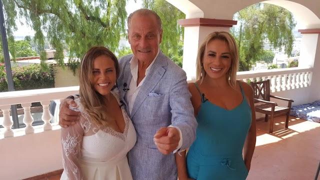 "Apresentadora Viviane Alves no Programa ""Marbella te Quiero"" na Espanha"