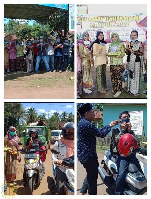 Berbagi Jamu Ala Desa Banjar Agung pada Peringatan Hari Kartini