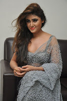 Actress Sony Charistha Latest Pos in Silver Saree at Black Money Movie Audio Launch  0032.jpg