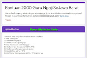 Proses Ajuan Dapatkan Bantuan 2000 Guru Ngaji dari BAZNAS JABAR