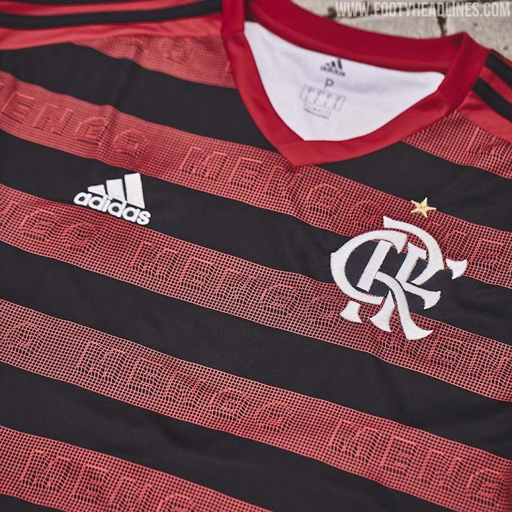 60a9825d73 Adidas Flamengo 2019-20 Home Kit Revealed - Footy Headlines