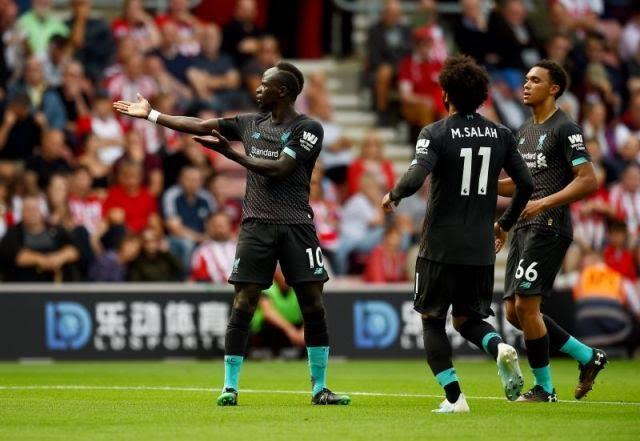Liverpool wins Southampton as Sadio Mane becomes the game changer