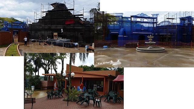 Marco das Três Fronteiras, Marco das Américas, Foz do Iguaçu, Paraná
