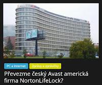 Převezme český Avast americká firma NortonLifeLock? - AzaNoviny