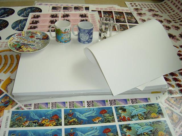 Các mẫu decal giấy