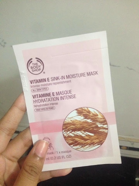 REVIEW: The Body Shop Vitamin E Sink-In Moisture Mask