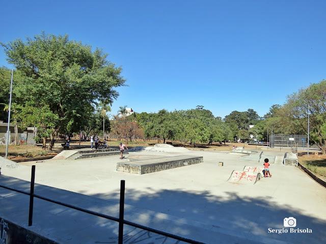Vista de parte do Parque Dom Pedro II - Sé - São Paulo