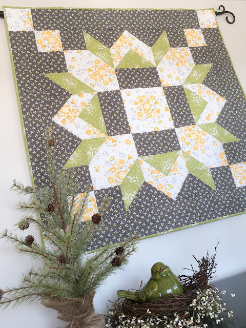 Carried Away Quilting A Barn Star Quilt And The Promise