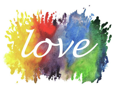 Splash Of Watercolor With Love Word for bestselling merchandise