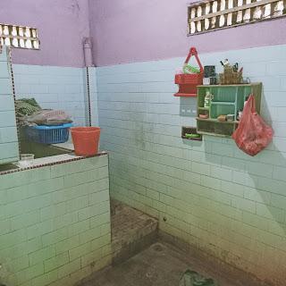 Kamar Mandi Rumah Second - Hadap Timur - Jual Tanah Aja - Lokasi Jl. Perwira Gatot Subroto Medan Sumatera Utara