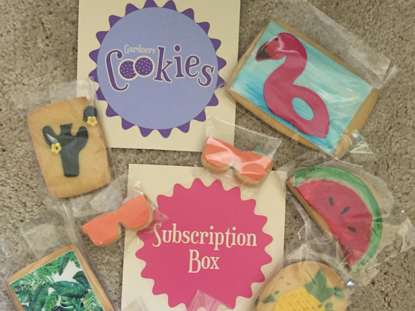Gardners Cookies Subscription Box
