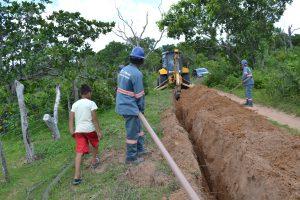AVANÇO - SAAE intensifica o trabalho de extensão de rede em Caxias