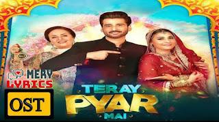 Teray Pyar Main OST Lyrics By Bilal Saeed