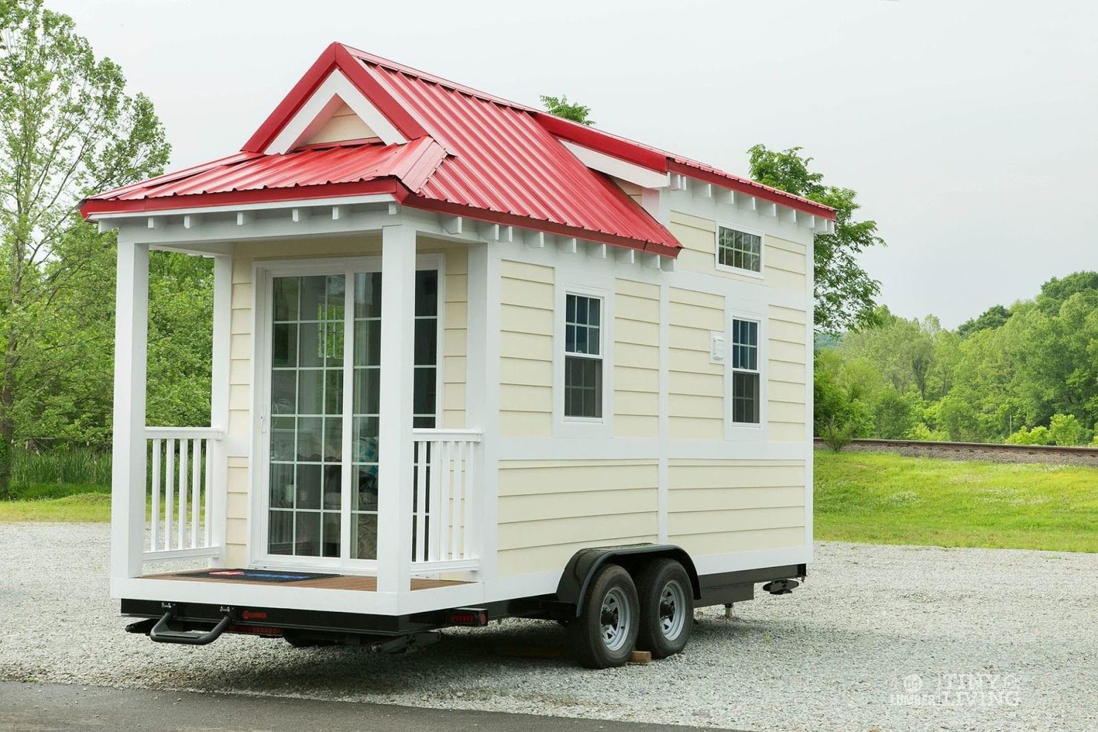 Tiny House Town Red Shonsie Tiny House By 84 Lumber