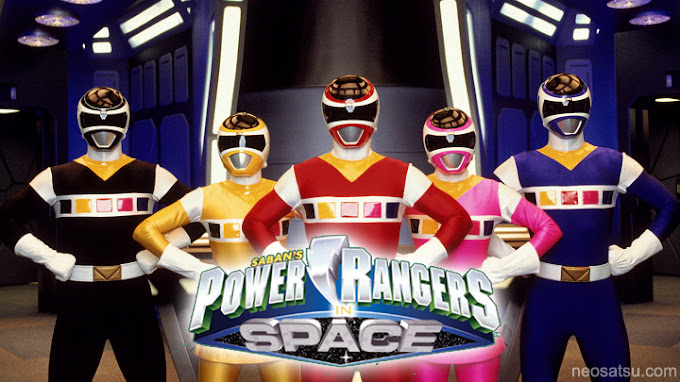 Power Rangers in Space Batch Subtitle Indonesia