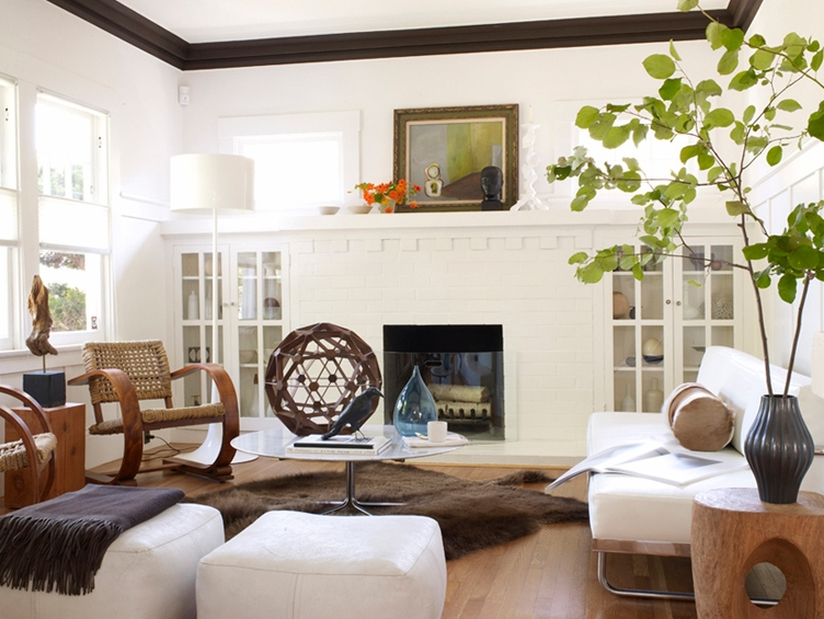 Living Room Paint Color Ideas With Wood Trim Craftsman Style