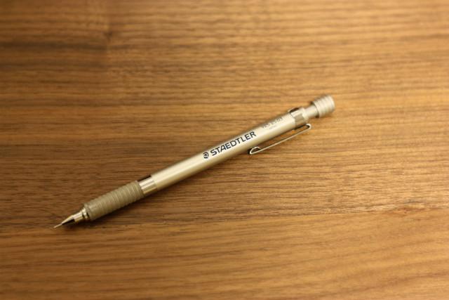 書きにくいシャーペンを紹介します