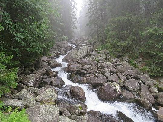 Potok Krupa.