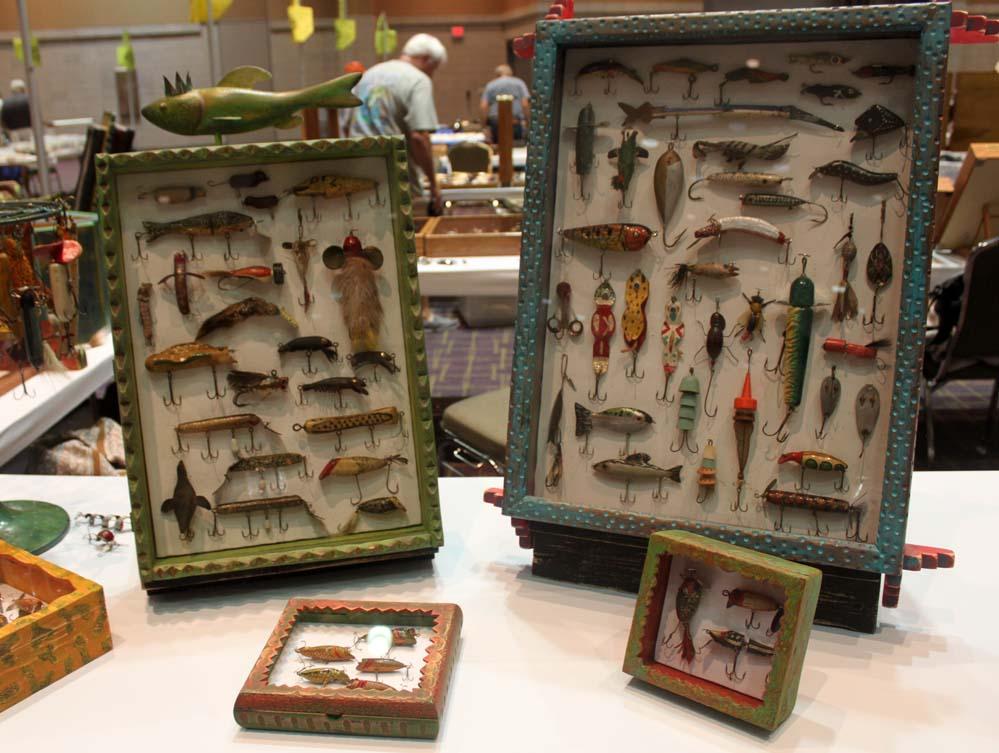 Folk Art Lure Cases