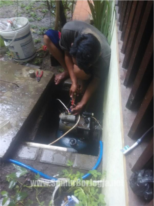 dokumentasi service pompa air di Playen Gunung Kidul Yogyakarta
