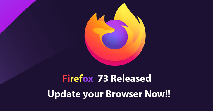 Firefox 73 Released  – Added NextDNS in Firefox DNS over HTTPS & Several Security Vulnerabilities are Fixed