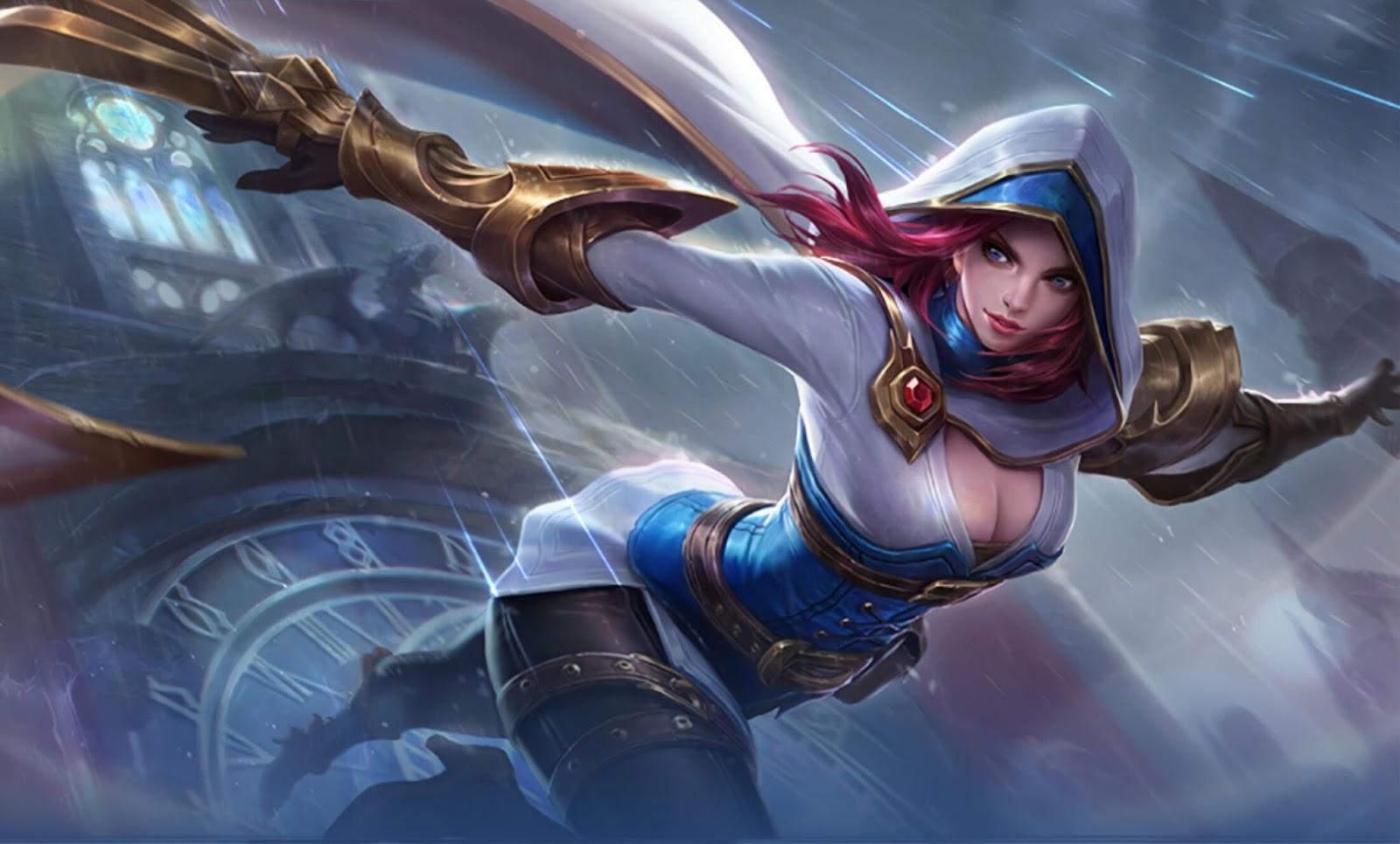 Wallpaper Natalia Bright Claw Mobile Legends Full HD for PC