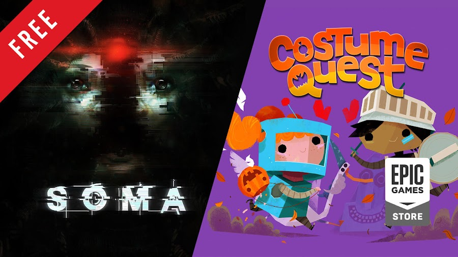 soma costume quest free pc game epic games store frictional games double fine productions