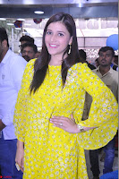 Mannara Chopra Looks Cute in Yellow Salwar Suit ~  Exclusive 37.JPG