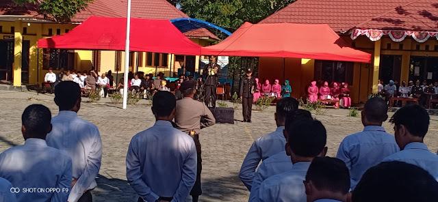 HUT Bhayangkara Ke-73, Di Lapangan Upacara Bontoharu Selayar