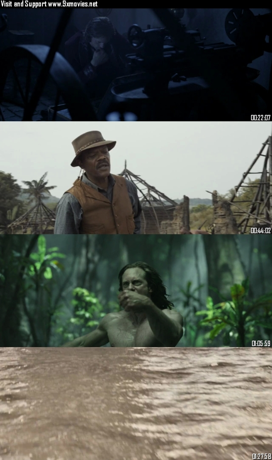The Legend Of Tarzan 2016 Dual Audio Hindi 720p 480p BluRay [850MB 350MB]