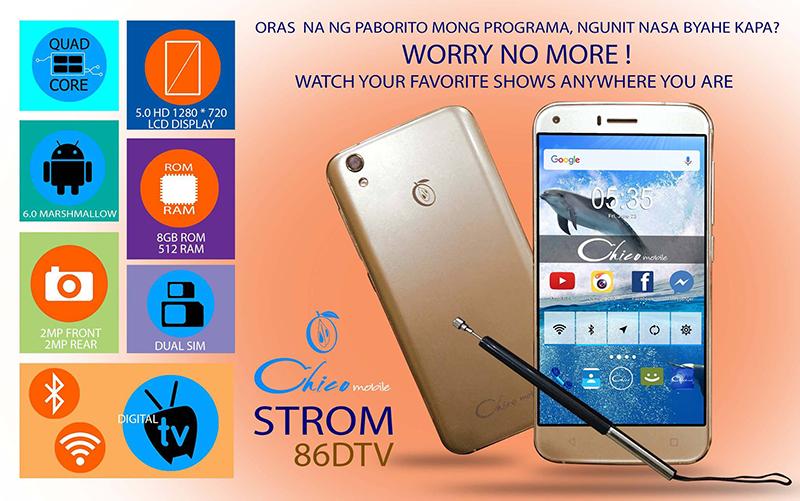Chico Mobile Strom 86 DTV