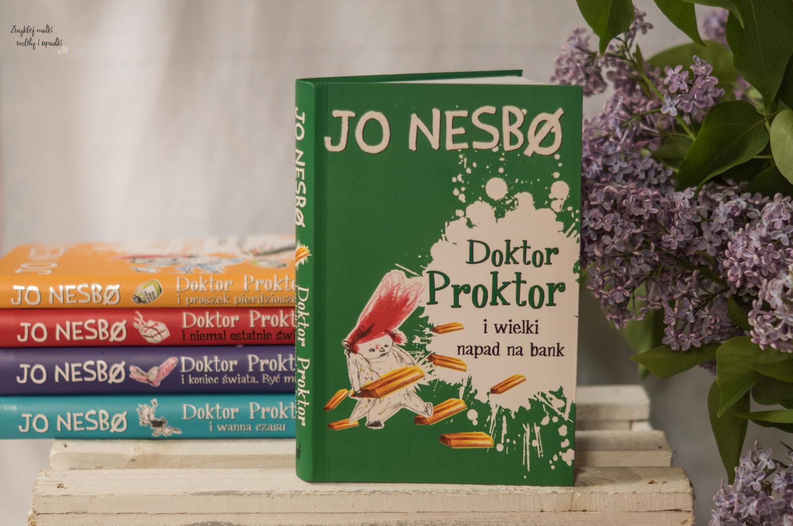 Doktor Proktor - szalony naukowiec Jo Nesbo