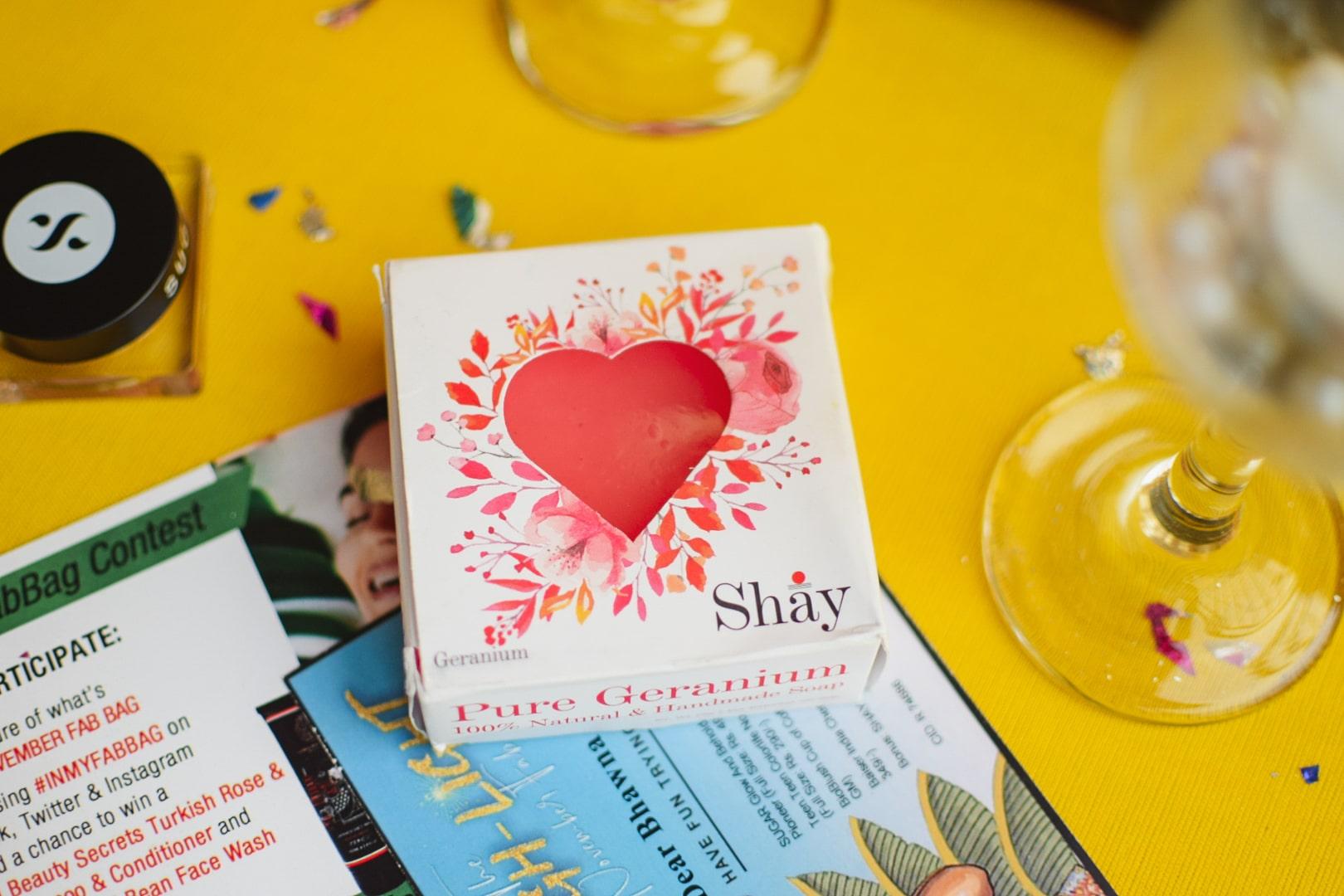SHAY Heart Soap